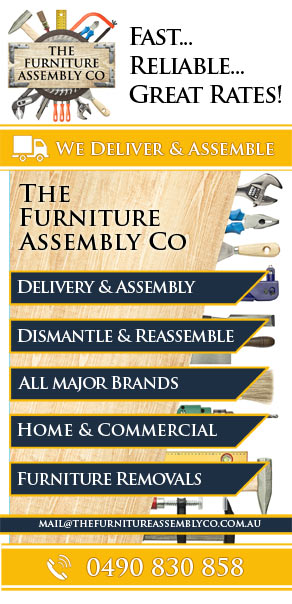 Flyer for The Furniture Assembly Co