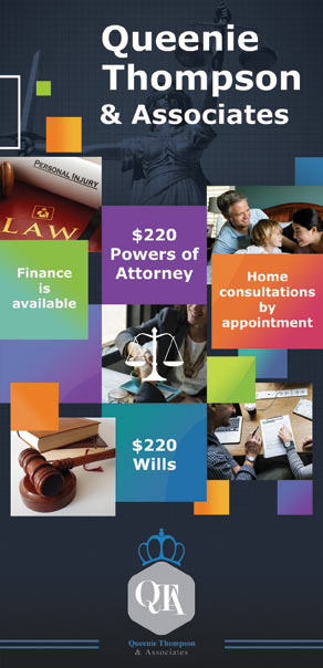 Flyer Queenie Thompson Lawyers
