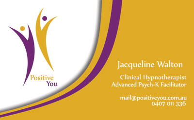 Positive You business card