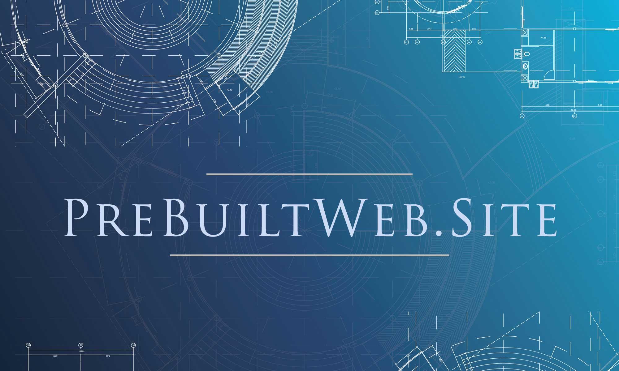 Blueprint logo of PreBuiltWebSite